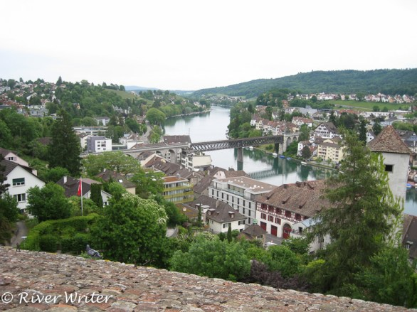 Views of the Rhine and Old Town