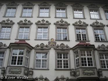 Rococo porticoes and oriole windows. 1738