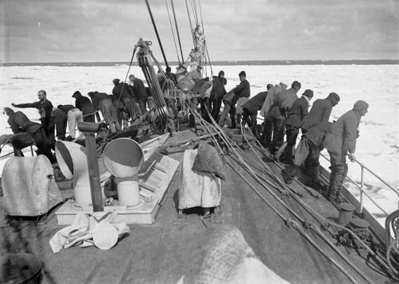 Scott's crew on Terra Nova