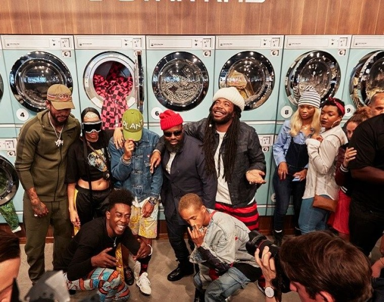 G-Star NYFW Drop Laundromat