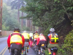 On our way to Raymonds Bakery in Cazadero. Photo: M.Uz
