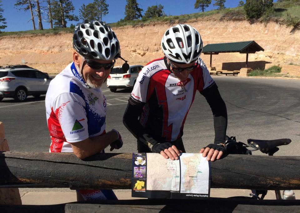 Route re-conn by Richard & Jim
