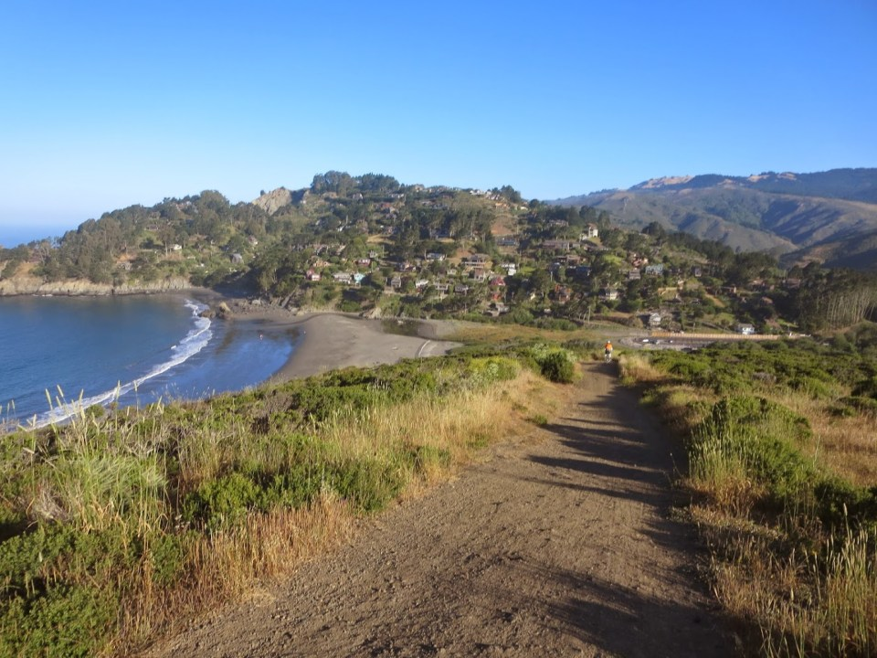 Down to Muir Beach. Photo: B. Chun