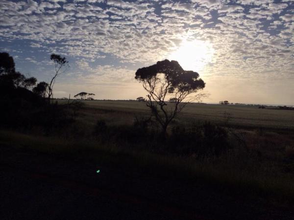 Aussie sunrise in the Stirling Range