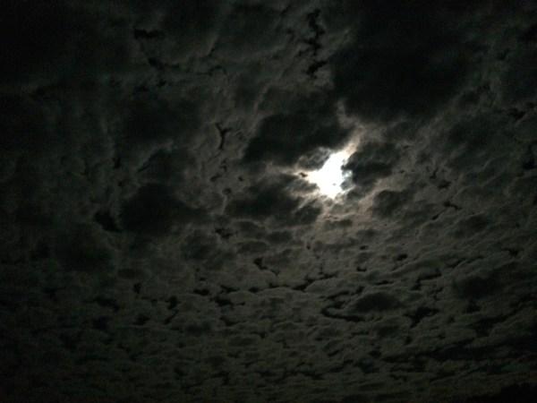 Full moon post Lunar eclipse. photo: Banks