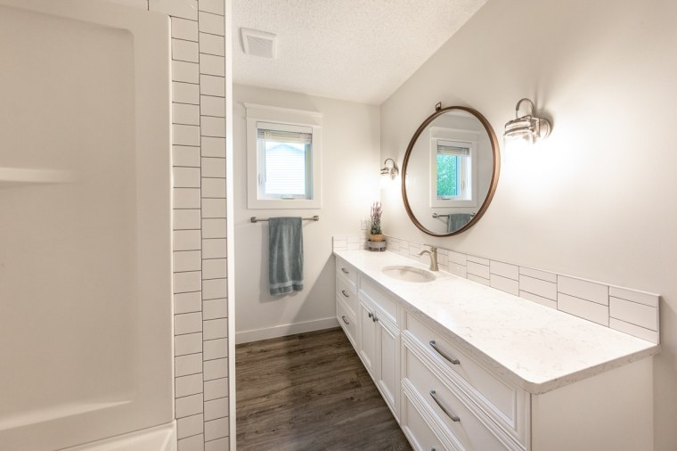 custom bathroom renovation sherwood park