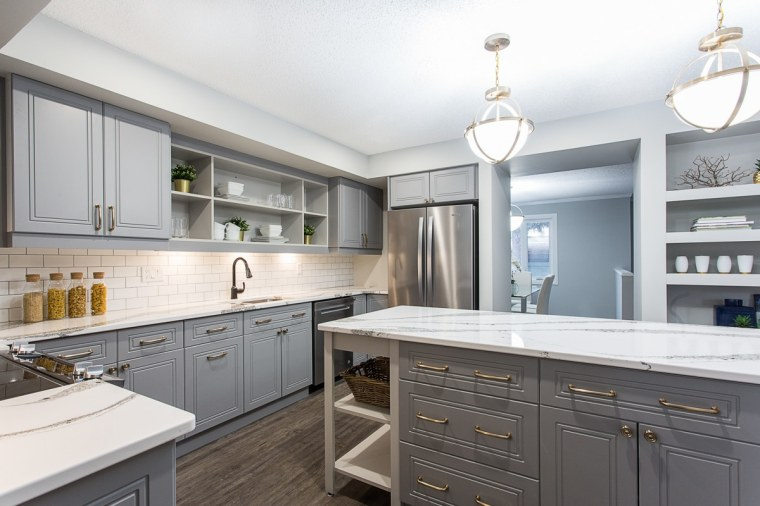 sherwood park custom kitchen renovation