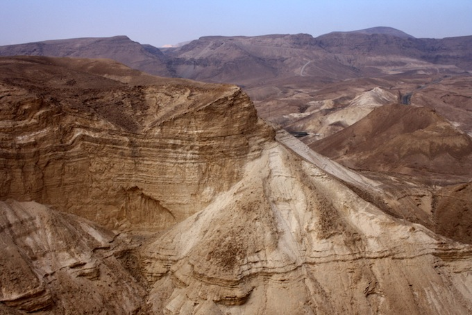 The Negev desert in Israel