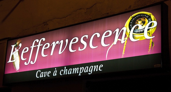 Effervescence Champagne Bar in Nice