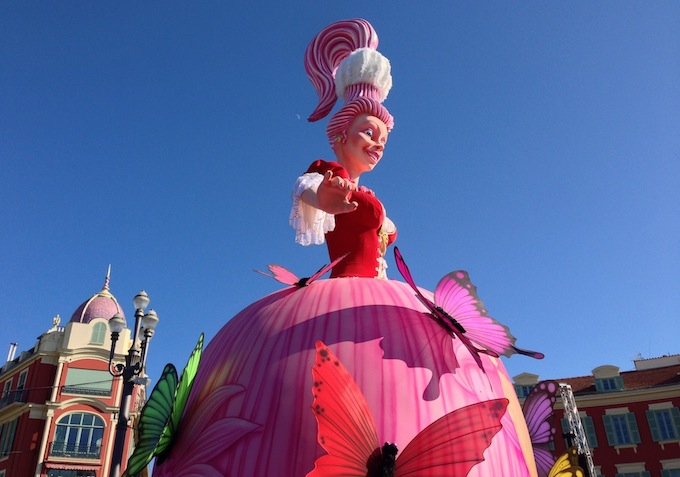 La reine de Carnaval de Nice 2013