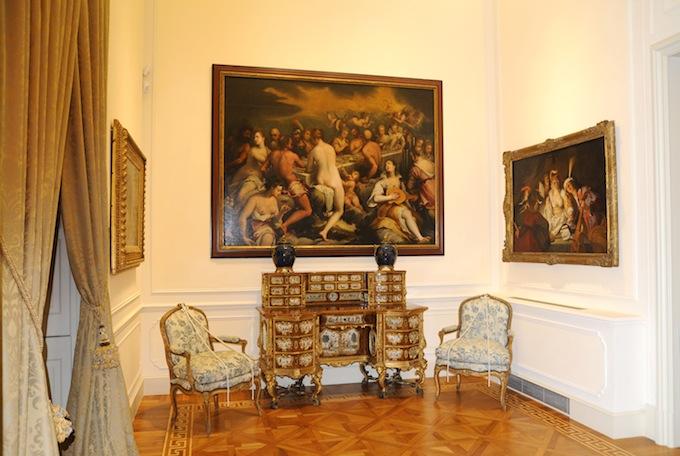 Villa Regina Margherita interior