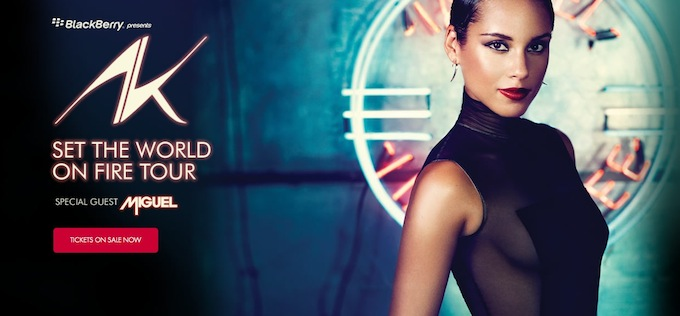 Alicia Keys coming to Monaco this summer