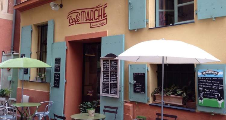 Café Marché in Nice for brunch © RIVIERA BUZZ