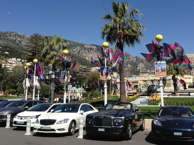 Automobiles in Monte-Carlo
