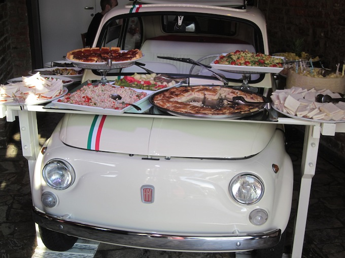 Fiat Buffet in Milan