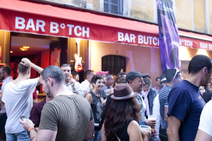 Le B*tch and Le Butch Bars in Vieux Nice