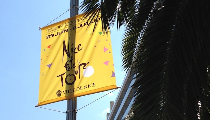 Nice welcomes the 100th Tour de France