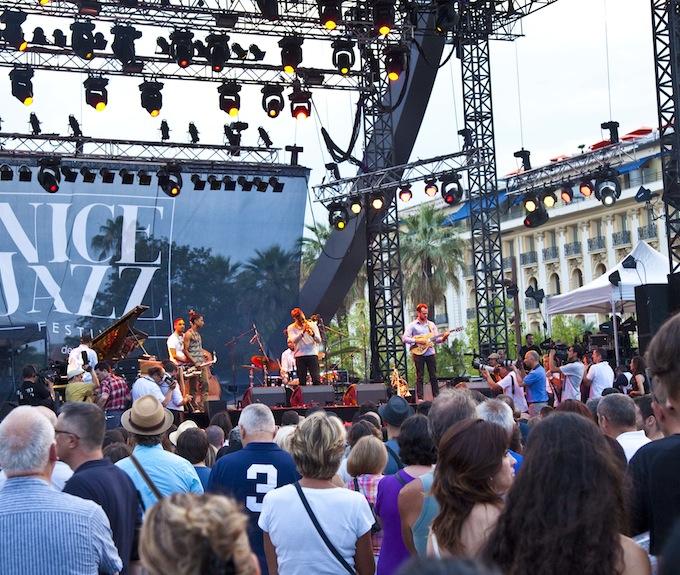 Live jazz from Nice Jazz Festival 2013