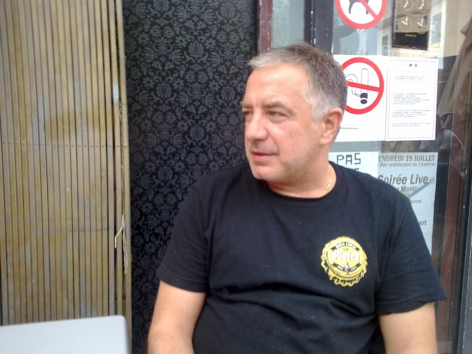 Olivier Soavi, owner of A Casa Serena in Les Adrets