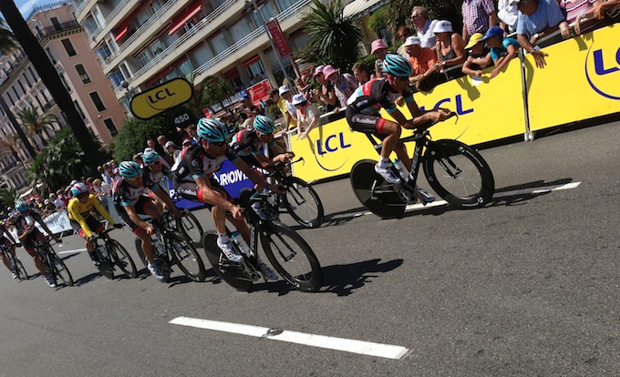 Le Tour de France team time trials in full swing in Nice
