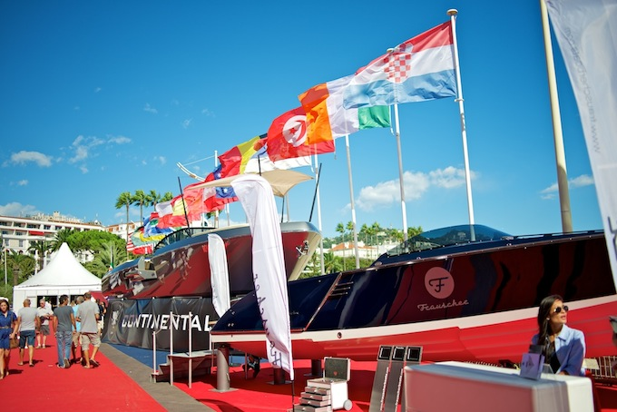 The ever popular Cannes Yacht Show