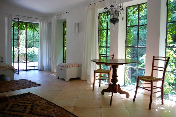 The comfortable lounge area in the Dolcedo-Lecchiore property