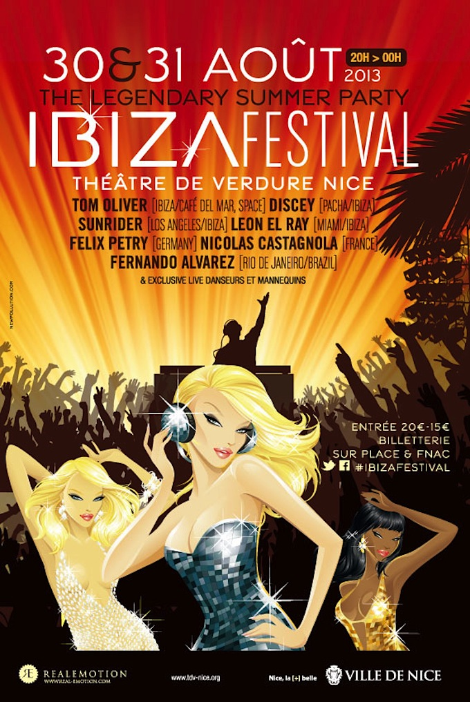 Ibiza Festival in Nice August 2013