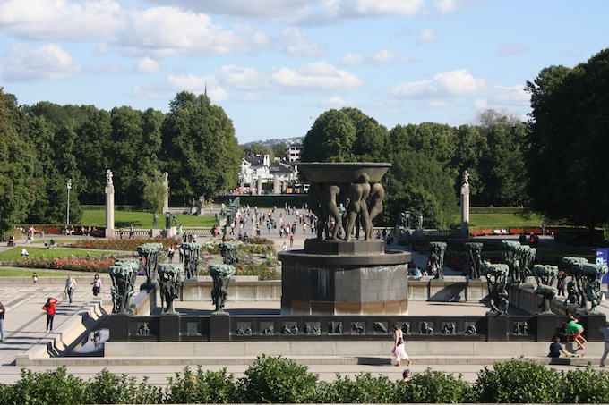 Vigeland Park in Oslo