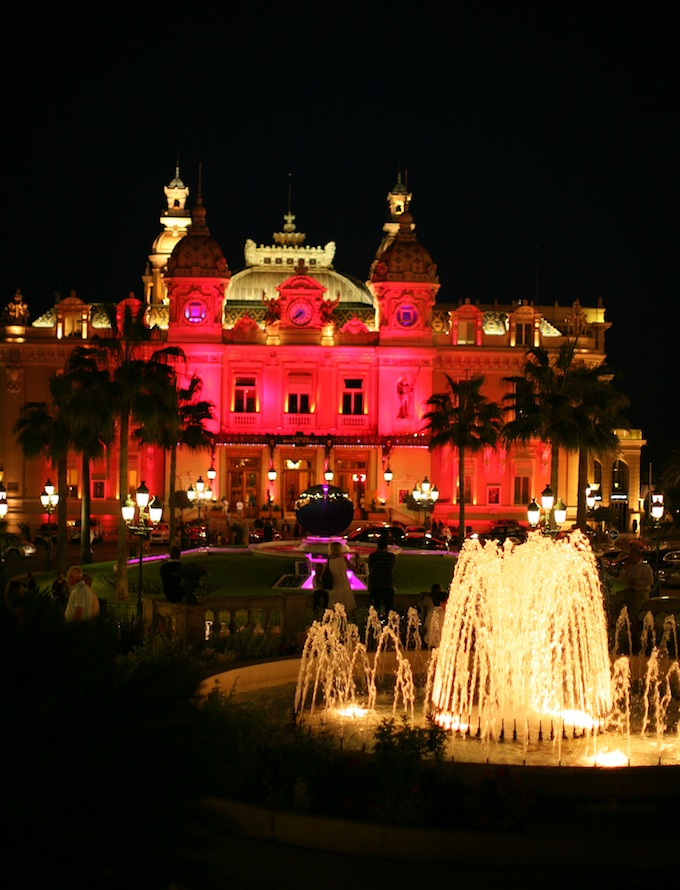 Casino de Monte-Carlo will turn pink this October 2013