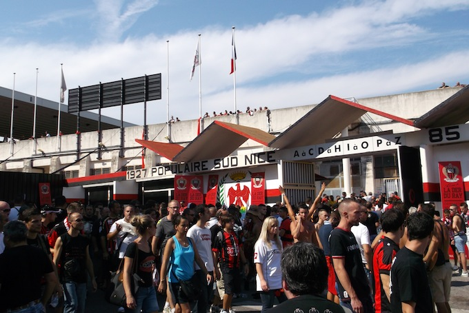 The famous Stade du Ray in Nice