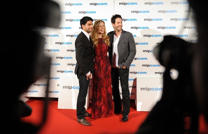Red carpet photo opportunity at MIPCOM 2012