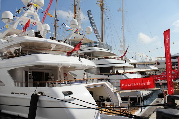 Edmiston yachts at the 2013 Monaco Yacht Show