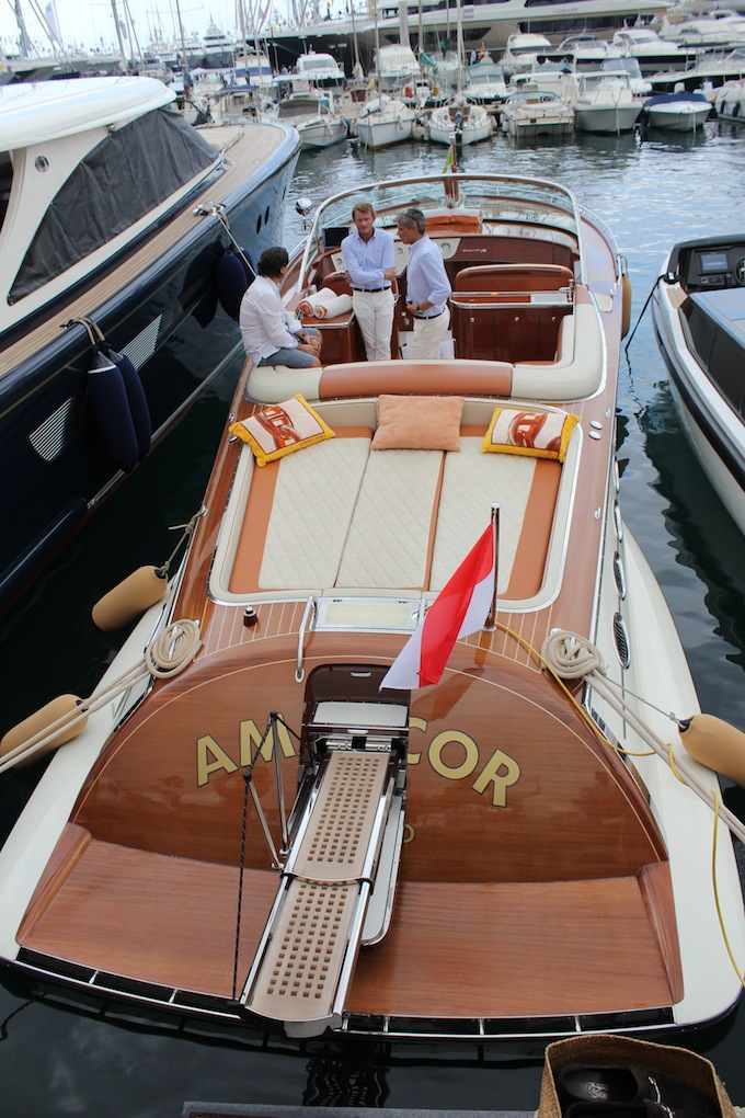 Another fine classic yacht at the 2013 Monaco Yacht Show