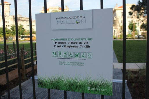 Inauguration of Promenade du Paillon in Nice