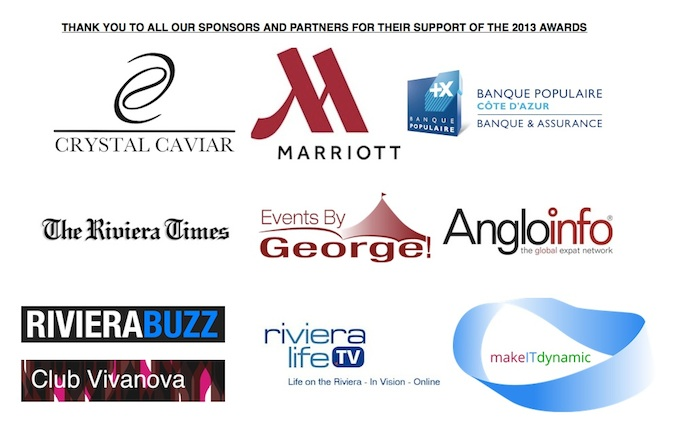 Partners and sponsors of the RBC Business Person of the Year 2013