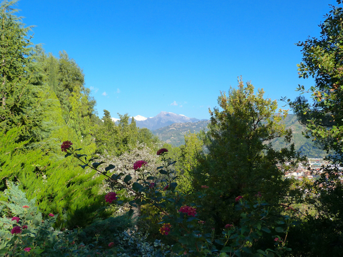 Stunning views from the villa in Camporosso by Terra Italia