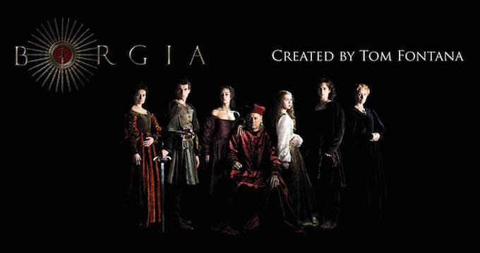 Borgia TV series