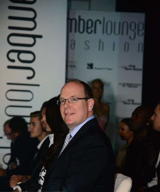 Prince Albert at Amber Lounge Monaco