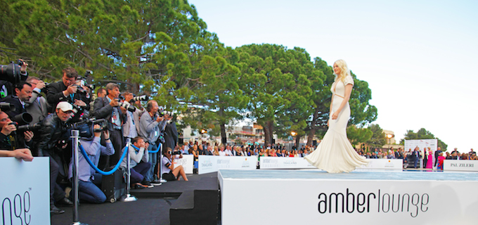 Fashion show at Amber Lounge in Monaco