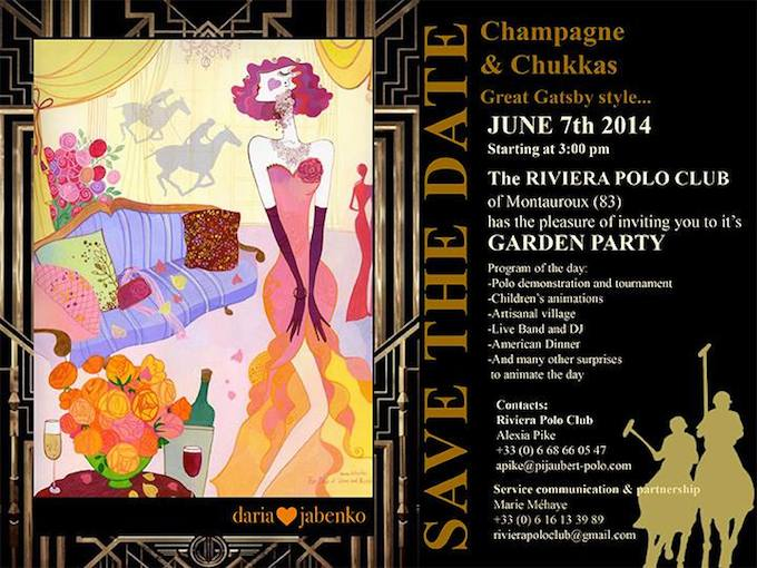 The 2014 Polo Summer Party in Callian