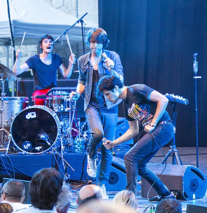 Gush perform at Crazy Week 2014 in Nice