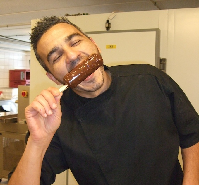 Fabrice Zuppo of Xocoalt in Nice