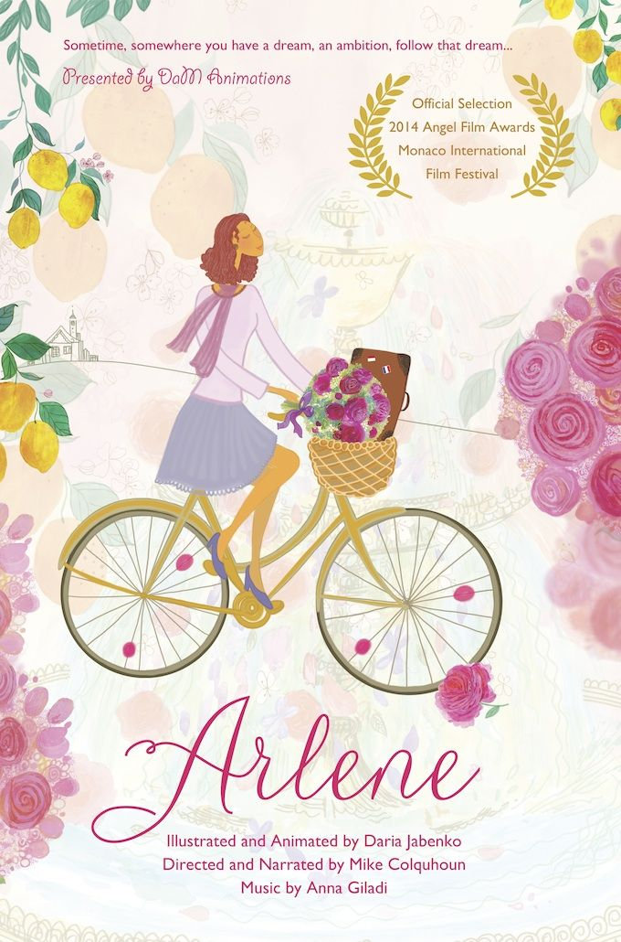 Arlene animated short movie poster