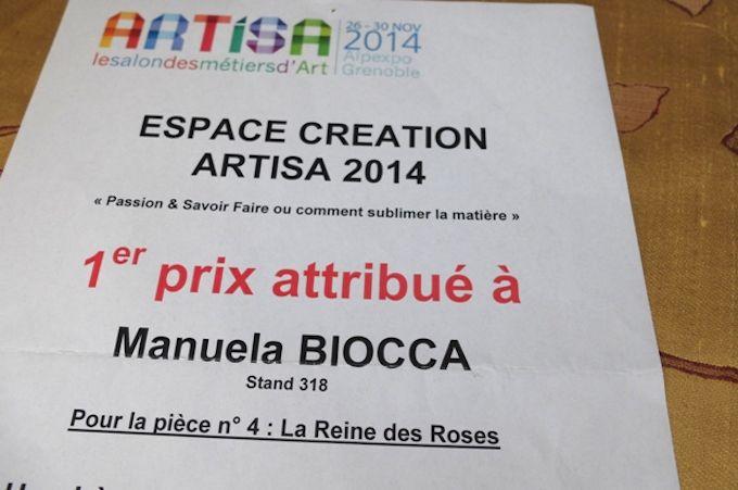 Reine des Roses wins first prize