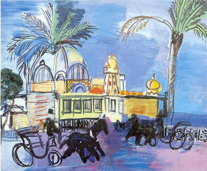 Nice by Dufy courtesy Ville de Nice