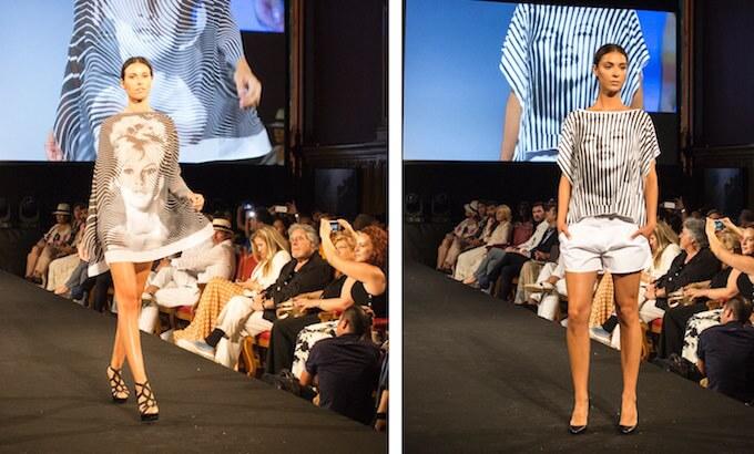 The catwalk at the Monaco Fashion Show 2015