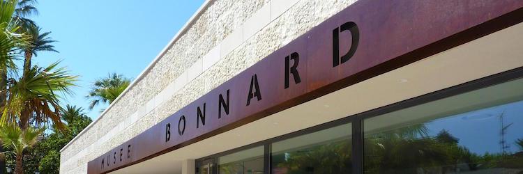 Signage @ Le Musée Bonnard