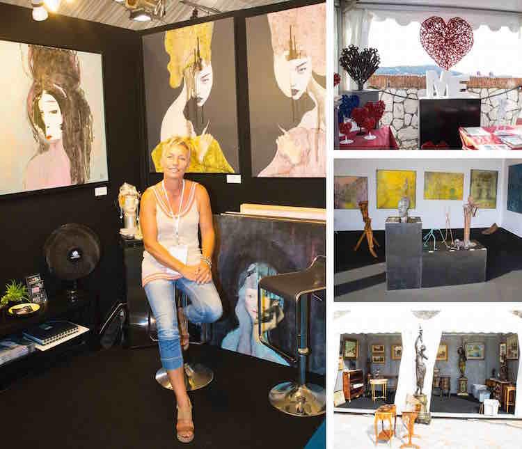 Art & Antiquities Fair at Villefranche Citadelle