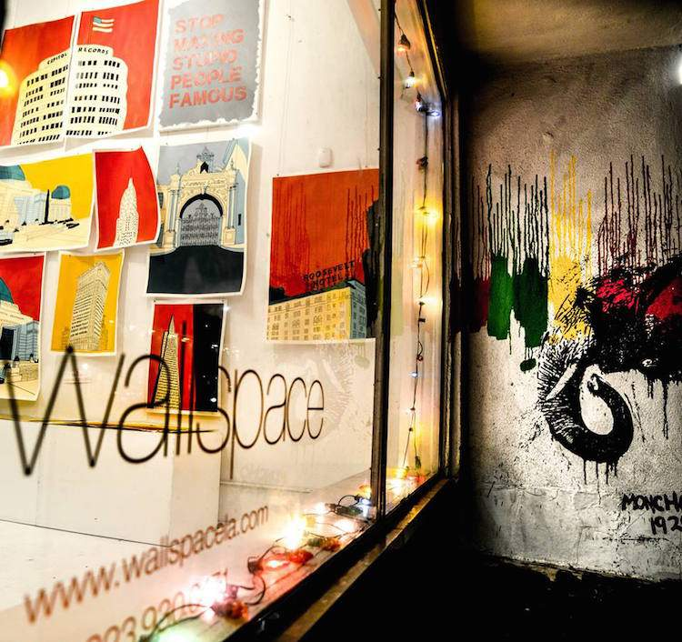 Wallspace Gallery in LA