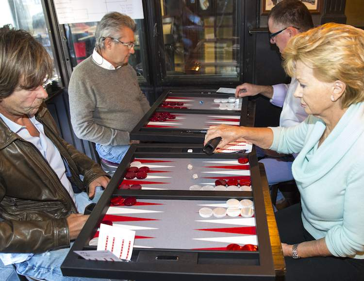 Backgammon event at McCarthy's in Monte-Carlo